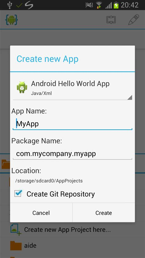 git tutorial android git integration tutorial aide android ide