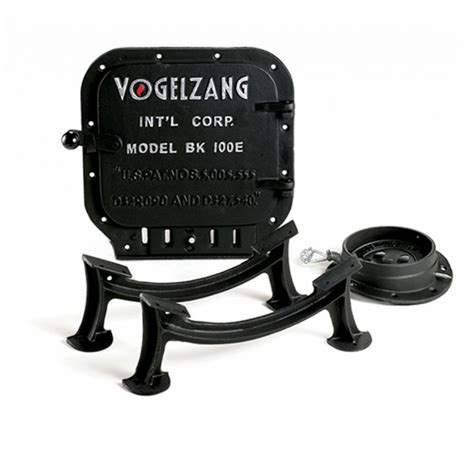 Barrel Stove Door by Vogelzang Standard Barrel Kit With Legs Door Flue Collar