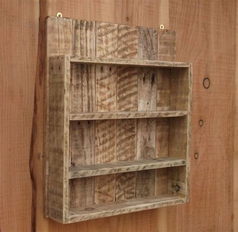 pallet spice rack ideas pallet wood projects rustic spice rack kitchen shelf cabinet made from reclaimed wood pallet wood storage grt