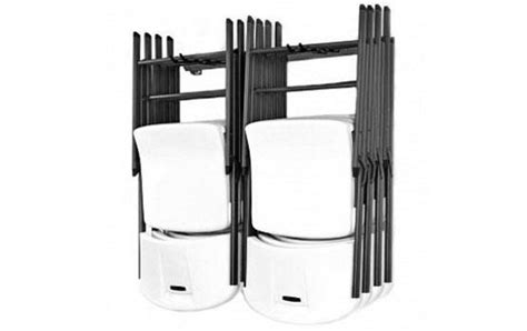 Chair Racks For Folding Chairs by Small Folding Chair Rack Chair Rack Monkey Bar Storage