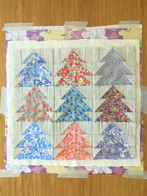 How To Baste A Quilt Pins And Spray Blossom Quilts