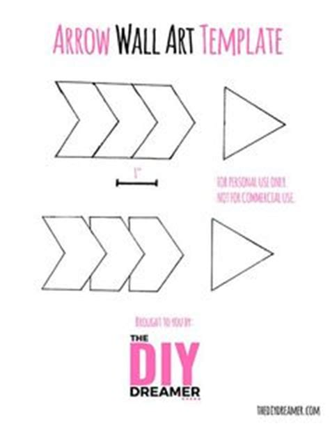 Arrow Garland Template Bing Images Tribal Party Printable Arrow Template