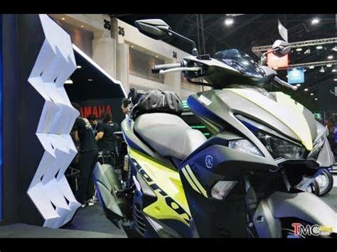 Sticker Motor Aksesoris Motor Aerox 155 Hitam ganteng yamaha aerox 155 kuning hitam thailand