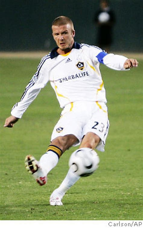 Beckham Wednesday by Beckham Begins To Fulfill Goals Ny Daily News