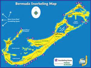 bermuda on a map recommended bermuda snorkeling beaches boat tours