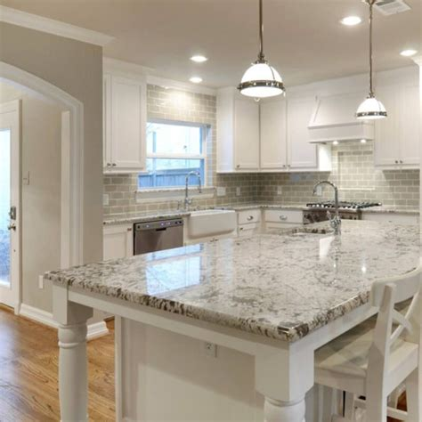 Kitchen Countertops With White Cabinets by Current Obsessions 8 Heavenly Kitchens With White Granite