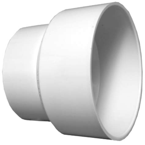 Increaser 4 X 1 1 4 Inch Flok Sok D Superlon Reducer Flock Sock shop pipe 2 in x 3 in dia pvc adapter coupling fitting at lowes
