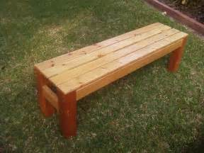 Wooden Bench Woodwork Build A Wooden Bench Pdf Plans