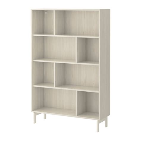 valje shelf unit larch white ikea