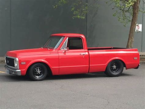 chevy short bed for sale 1972 pro street chevy c10 short bed classic chevrolet c