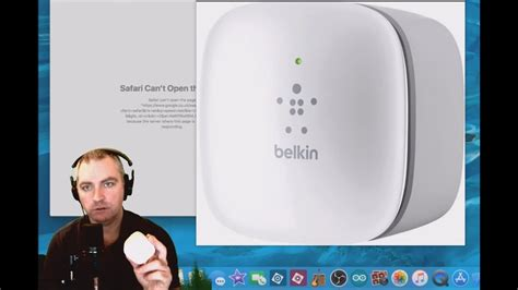 resetting wifi extender belkin reset and connect to belkin wifi extender on mac osx youtube