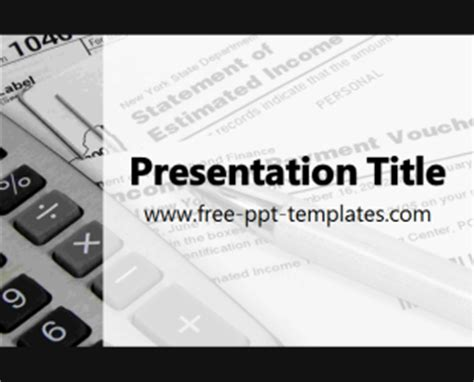 Tax Ppt Templates Free Tax Ppt Template Free Powerpoint Templates