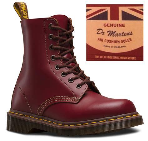 Dr Martens 156169 Made In Docmart Dr Martens dr martens 1460 made in vintage collection 8 eye leather ankle boots ebay