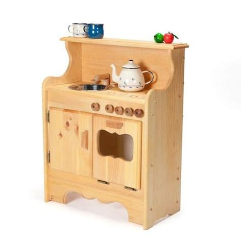 wood kitchen play set wooden play kitchens