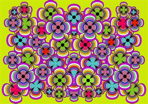 imagenes alegres y coloridas el fondo muy brillante y alegre de flores coloridas