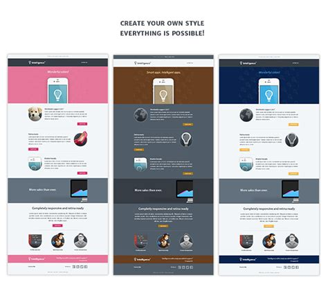 email marketing template images templates design ideas