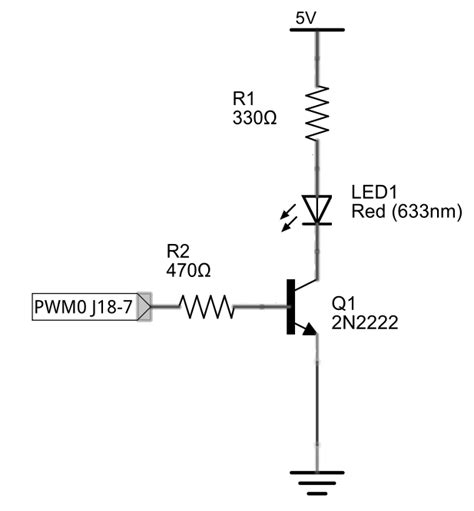 transistor translate exploring edison at 1 8v