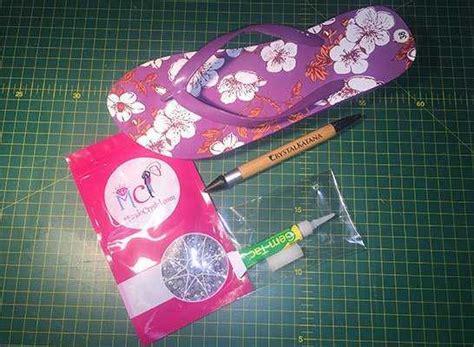 ideas para decorar sandalias sandalias con pedrer 237 a 191 c 243 mo decorarlas paso a paso