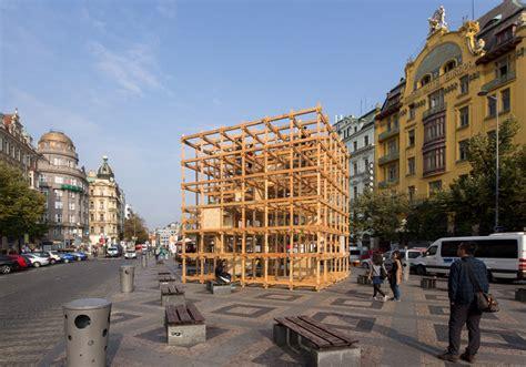 designboom observatories h3t architects set designblok observatory cube in prague s
