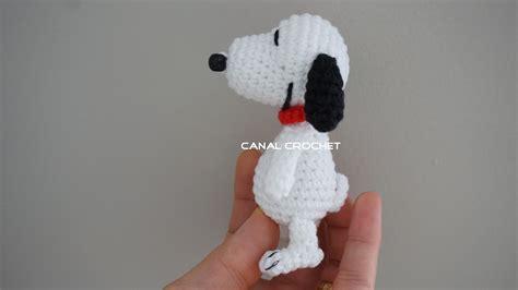 amigurumi tutorial canal crochet snoopy amigurumi tutorial
