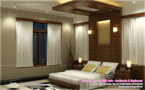 interior house designs beautiful home interior designs by green arch kerala