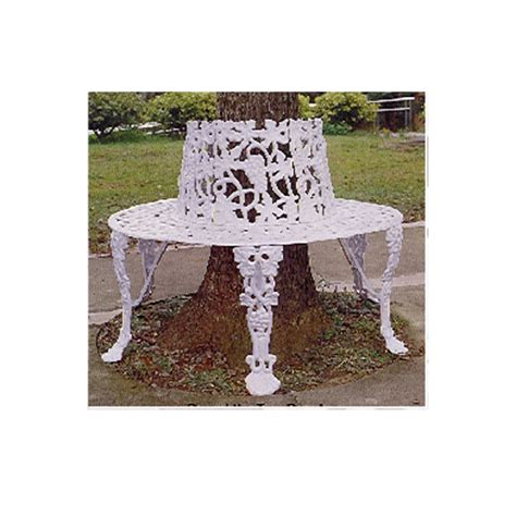cast iron tree bench grape aluminum tree bench betterimprovement com