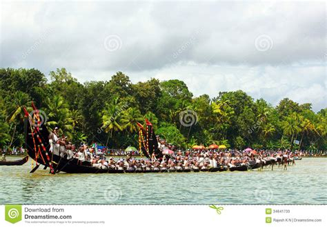 dream boat race snake boat races of kerala editorial stock photo image