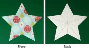 15 best photos of 3d paper star instructions how to make