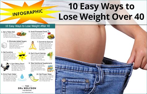 weight loss 40 10 easy ways to lose weight age 40