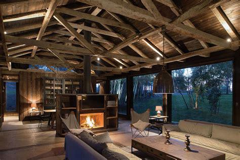Farm Office Floor Plans by Une Grange En Bois Transform 233 E En Jolie Maison De Vacances
