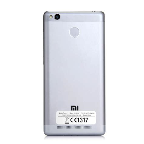 Xiaomi Redmi 3s 2 16 Grey international version xiaomi redmi 3s 2gb 16gb smartphone