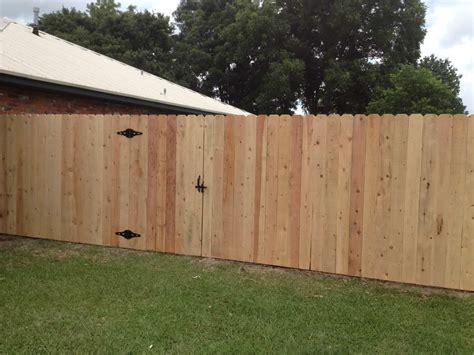 basic  cedar privacy fence frank breaux construction