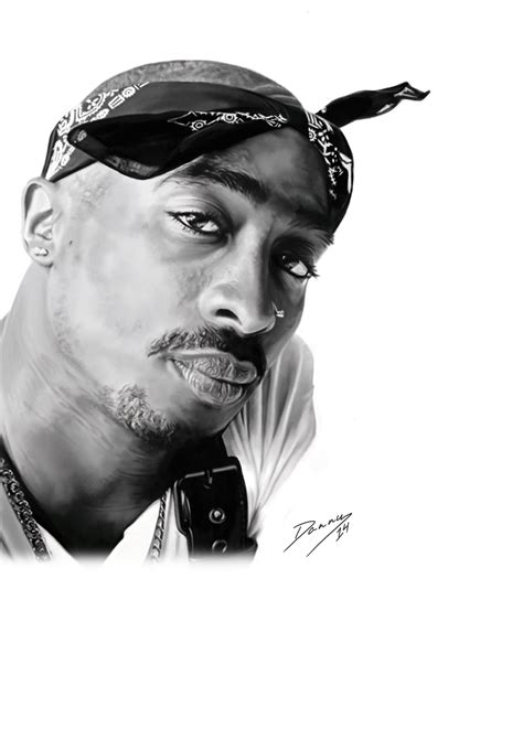 tupac shakur black and white drawing www pixshark com
