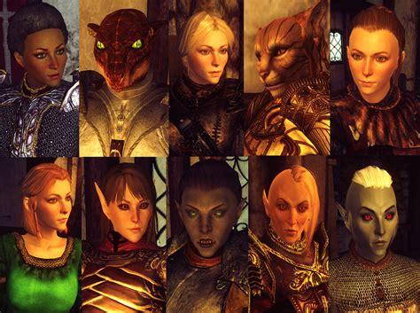 oblivion better faces oblivion character overhaul version 2 at oblivion nexus