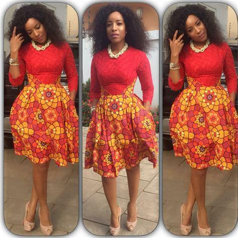 show a picture of beautyful hair style ghana weaving celebrities photos classical ankara skirt styles