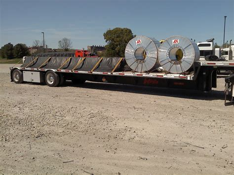 Coil Racks For Flatbeds by Our Iron Chris Helms Transportation Inc