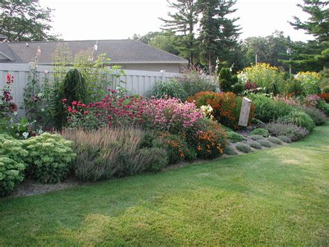 Home Design Grand Rapids Mi english perennial border norton shores mi traditional