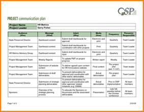 project management communication plan template sle munication plan template 100 images crisis