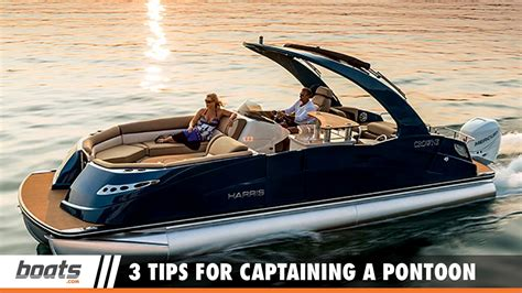 boat r tips boating tips 3 tips for captaining a pontoon boat youtube