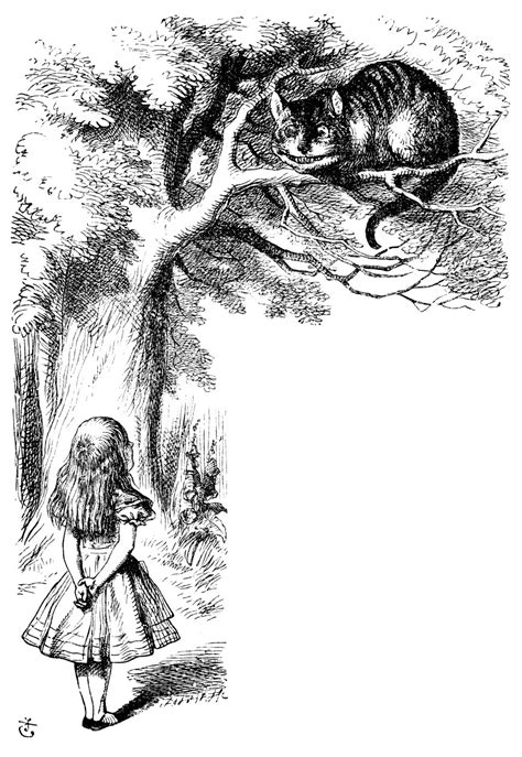 Cheshire Cat pictures - Alice-in-Wonderland.net