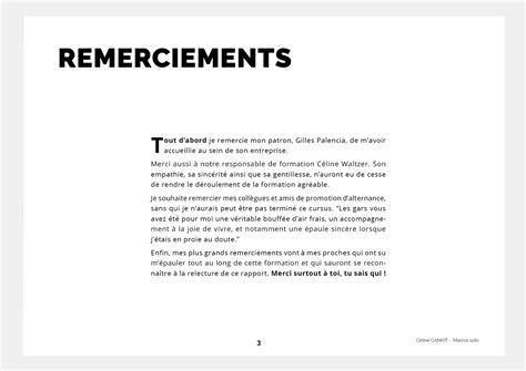 lettre de remerciement hierarchie rapport de stage conseils de r 233 daction et exemples caniot