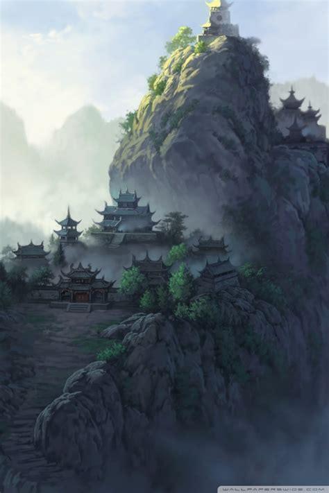 ancient japanese temples  hd desktop wallpaper