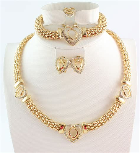 7 Best Necklaces For Your Wedding by Get Cheap Gold Sets Designs Aliexpress