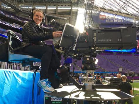 camera operator deena sheldon relies  cartoni magnum  capture super bowl lii halftime show