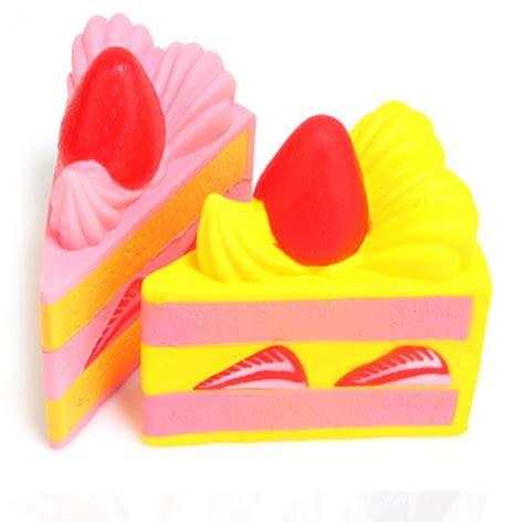 Squishy Vlo Strawberry Cake Original squishyfun strawberry 15cm cake squishy rising original packaging collection