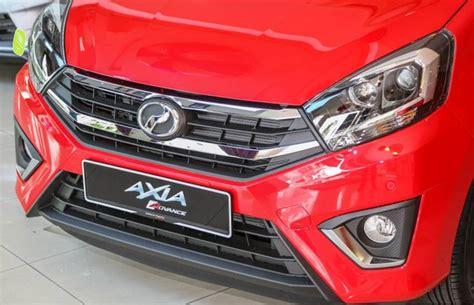 Lu Led Mobil Ayla daihatsu ayla facelift 2017 rilis di malaysia lebih keren