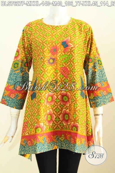 Batik Kotak batik blus model kotak baju batik keren untuk til