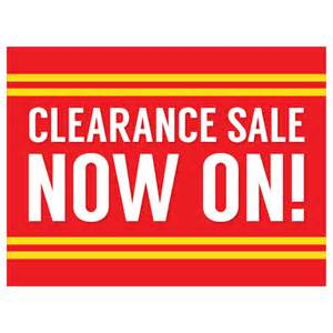 Sale Sign Template by Business Template Clearance Sale Template