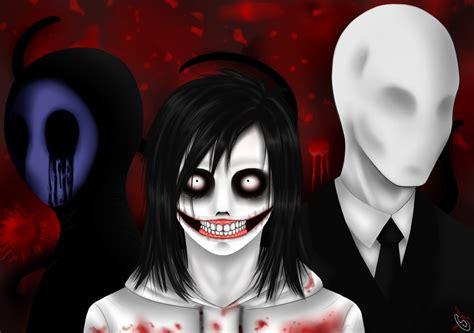 imagenes de jack y jeff the killer eyeless jack jeff the killer y slenderman creepypastas