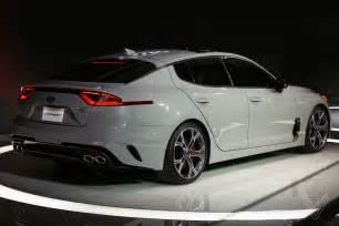 Kia Sport Cars The Kia Stinger Is A Sports Sedan That Sizzles In A Sea Of